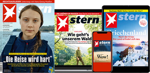 'stern im Print-